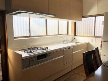 リフォーム  野田市 収納性が上がり、明るいキッチンになりました!