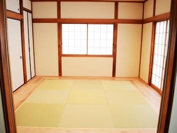 リフォーム  野田市 和室を洋室に、の予定をもっと良いモダン和室に!