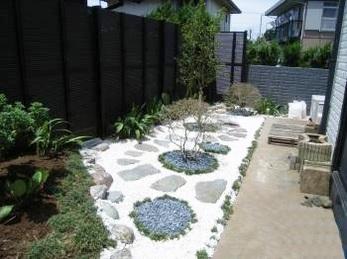 お庭のデザインからリフォームしてくれました。