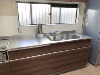 収納、シンクの広さ、見た目、素敵なキッチンになりました!