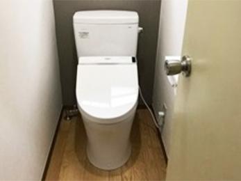 清潔感のあるトイレ空間になりました!