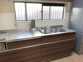 リフォーム  野田市 収納、シンクの広さ、見た目、素敵なキッチンになりました!